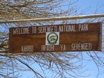 Национальный парк серенгети.