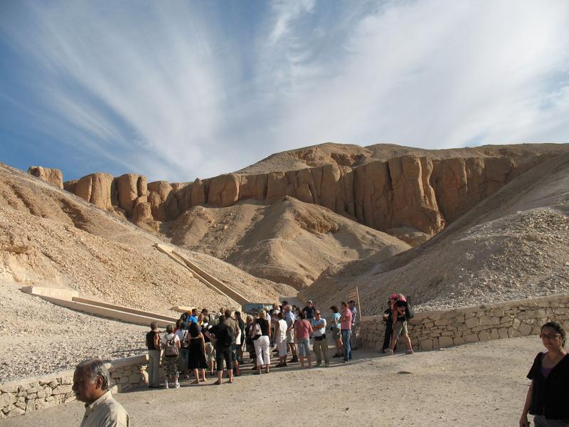 Долина Царей в Фивах