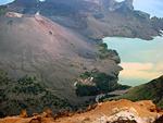 Гора ринджани, национальный парк и водопады острова ломбок.