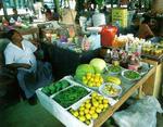 Рыбный и местный рынки в мале.