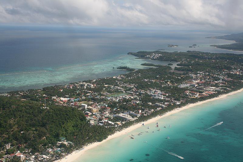 боракай фото пляжей