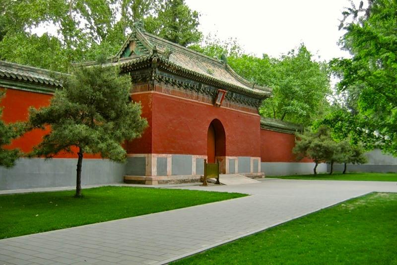 Китай парк бэйхай