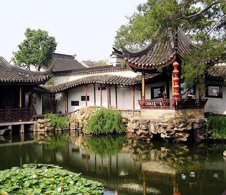 Китай сад рыбака